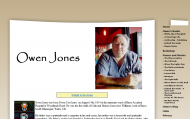 Owen Jones - Author's WebsiteThumbnail