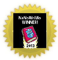 NoNoWriMo 2013 Winner